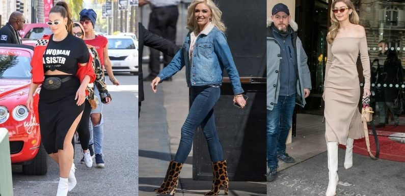 The 7 Types of Boots You'll See Everywhere This Fall, Your Closet Included