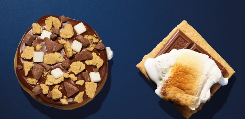 How Long Is Dunkin's S'mores Donut Available? Get It For National S'mores Day