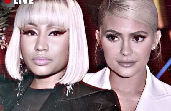 TMZ Live Nicki Minaj & Kylie Jenner Come Face-To-Face