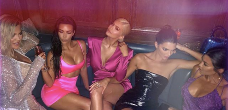 The Photos Of Kylie Jenner's 21st Birthday Party Prove The Kardashians Are All About Love