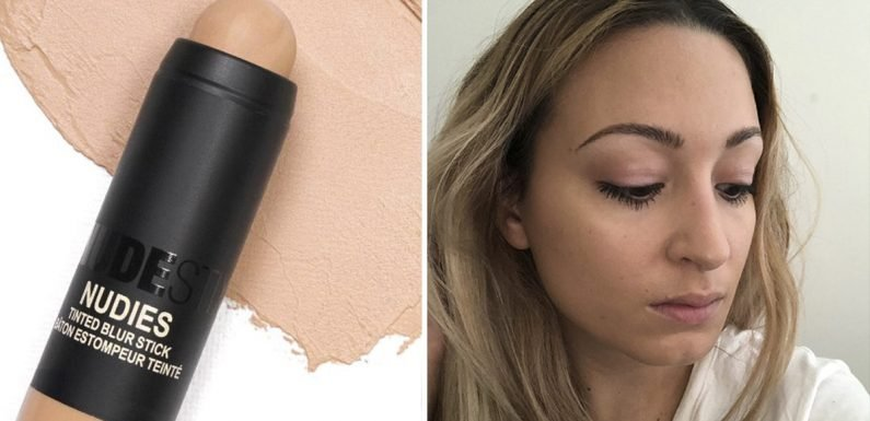 This NUDESTIX Nudies Tinted Blur Stick Review Proves Anyone Can Wear No-Makeup Makeup