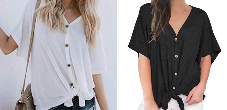 This $17 Top Is a No. 1 Amazon Bestseller — It's So Comfy and Comes in 9 Colors