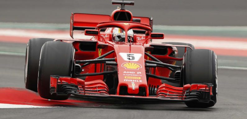 Surging Vettel's Ferrari ready to ride the red wave at Monza