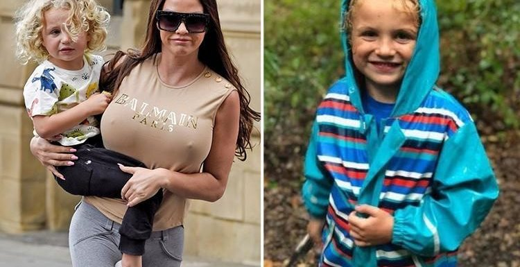 Katie Price fails to publicly mention son Jett's fifth birthday after he spends the day with dad Kieran Hayler