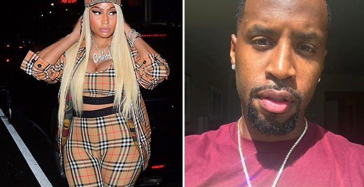 Nicki Minaj and ex-boyfriend in furious Twitter spat after he claims he nearly died after she stabbed him