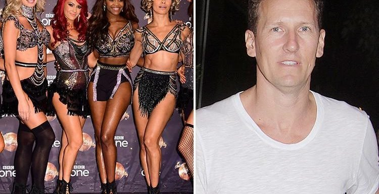 Strictly Come Dancing's Oti Mabuse reveals sacked Brendan Cole is still in the professionals' WhatsApp group despite being banned from the show's set