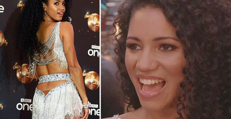 Vick Hope admits she can't take her eyes off the 'hot' Strictly professional dancers as she refuses to rule out a romance on the show