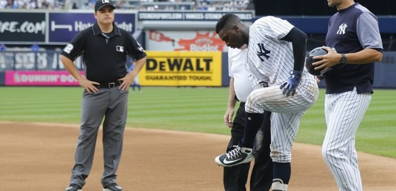 Yankees' Didi Gregorius Injured After Collision With Kendry Morales Could Be Added To the DL