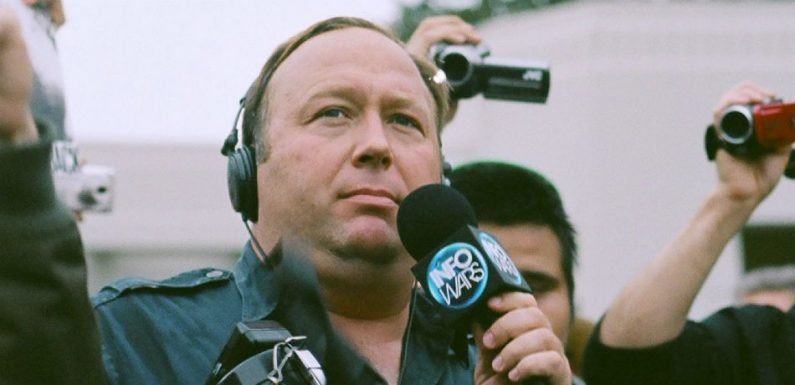 Alex Jones Suspended From Twitter For Seven Days