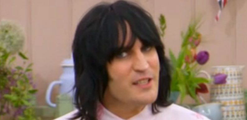 GBBO viewers stunned by Noel Fielding's dramatic new look and scandalous shirt