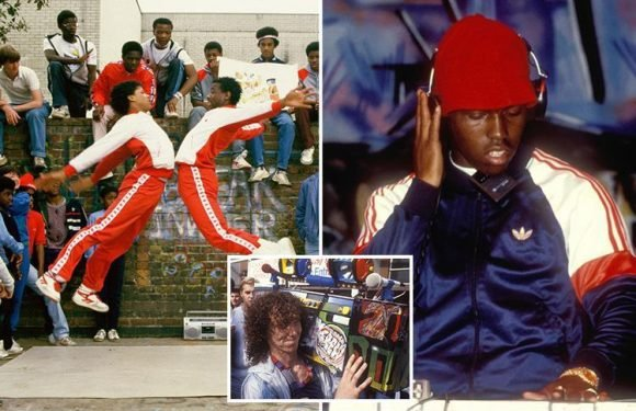 Life as a hip hop fan in 1980s London captured in newly-released throwback snaps