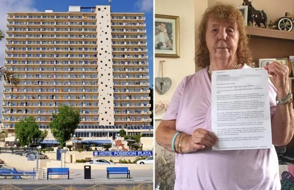 Brit gran who complained about 'too many Spanish' at her Benidorm hotel slammed by locals saying she's doing it for compo