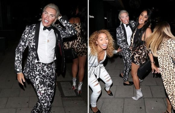 Celebrity Big Brother's Rodrigo Alves parties with Natalie Nunn after bosses refuse to air moment he was kicked out because of 'shocking nature'
