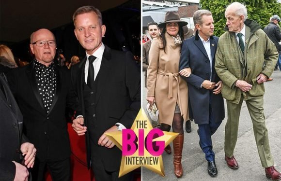 Jeremy Kyle admits he's a softie at heart as he opens up about life after mum's death, wedding plans and becoming a granddad for the first time