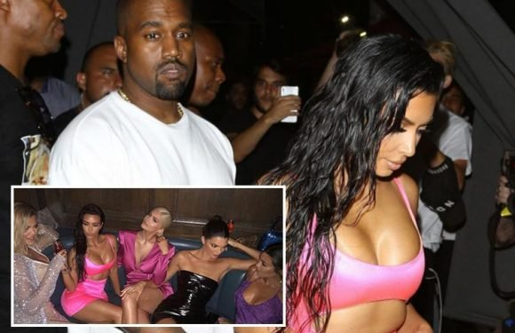 Kanye West reveals he wants to 'smash' all four of Kim Kardashian's sisters in raunchy new song