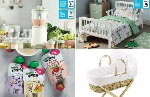 Aldi has a HUGE baby and toddler sale this weekend…and prices start at 59p