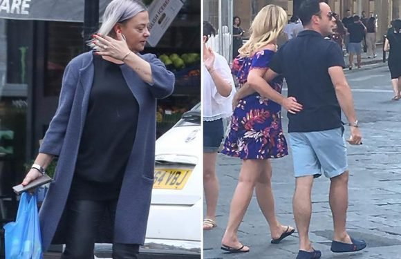 Lisa Armstrong still wearing her engagement ring after heartache over Ant McPartlin's romantic holiday with Anne-Marie Corbett