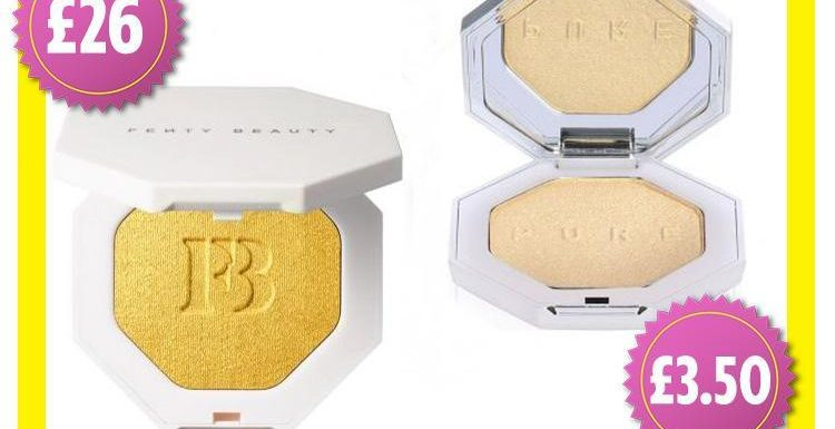 This £3.50 Primark highlighter dupe looks almost identical to Rhianna's £26 version