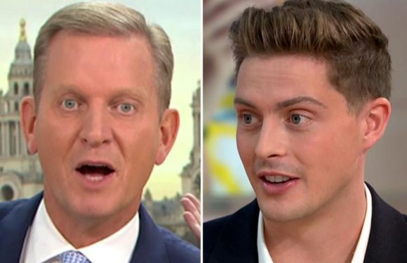 Jeremy Kyle mocks Dr Alex George by laughing about his failure to find a girlfriend on Love Island