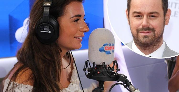 Awkward moment Danny Dyer pranks daughter Dani by calling her radio show to grill her about whether she's had sex with boyfriend Jack Fincham