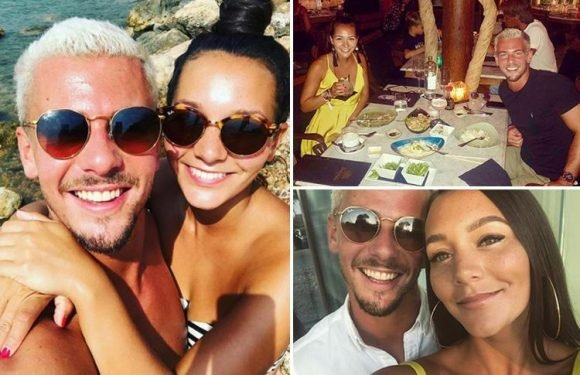 Hollyoaks' real-life couple Nadine Mulkerrin and Rory Douglas-Speed post loved up pics from Ibiza holiday as they take a break from playing Cleo and Joel