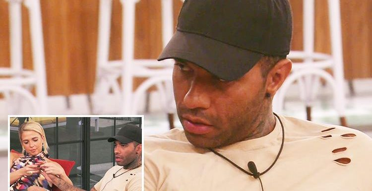Jermaine Pennant shocks Celebrity Big Brother housemates as he puts his wedding ring back ON after Chloe Ayling is evicted