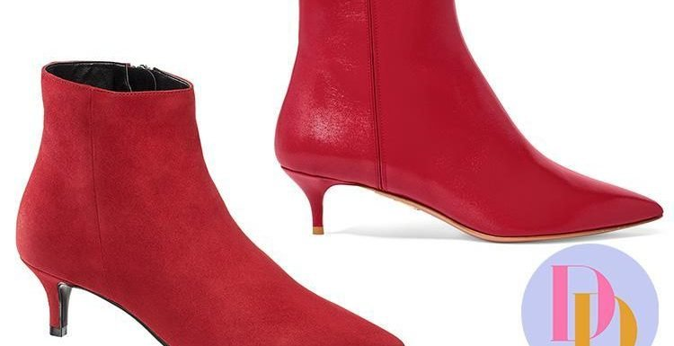 Can you spot the difference between these £670 Aquazzura boots and the £54.99 pair?