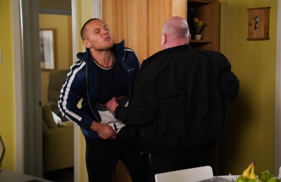 EastEnders spoilers: Raging Phil Mitchell attacks Keanu in furious bust-up after becoming suspicious over his affair with Sharon