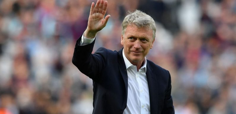 David Moyes shock contender for new job ahead of return to game
