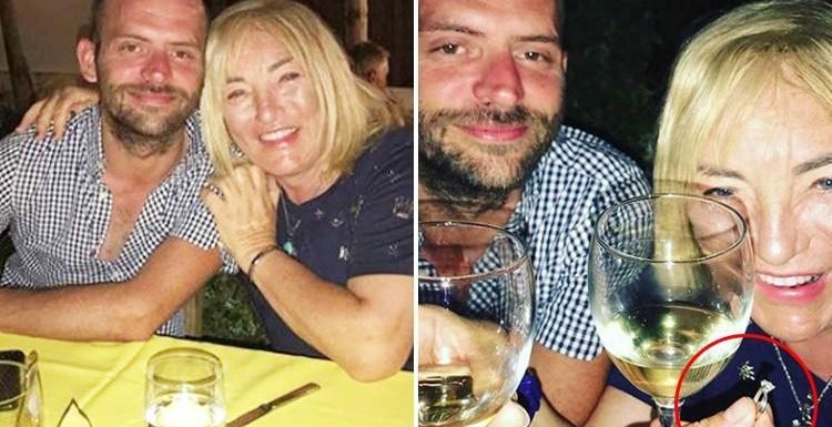 Kellie Maloney hints she's engaged to ex-soldier Jason Shaw as she shares loved-up snaps on Instagram