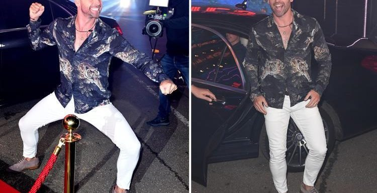 Celebrity Big Brother fans can't stop looking at Ben Jardine's package in tight white jeans
