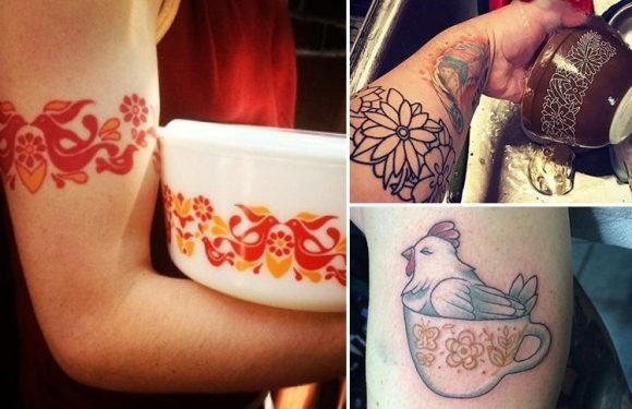 Foodies are getting tattoos inspired by PYREX patterns… so would YOU get one?