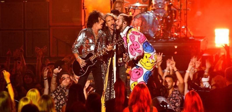 Watch Aerosmith, Post Malone, 21 Savage Close Out MTV VMAs With 'Toys In The Attic'