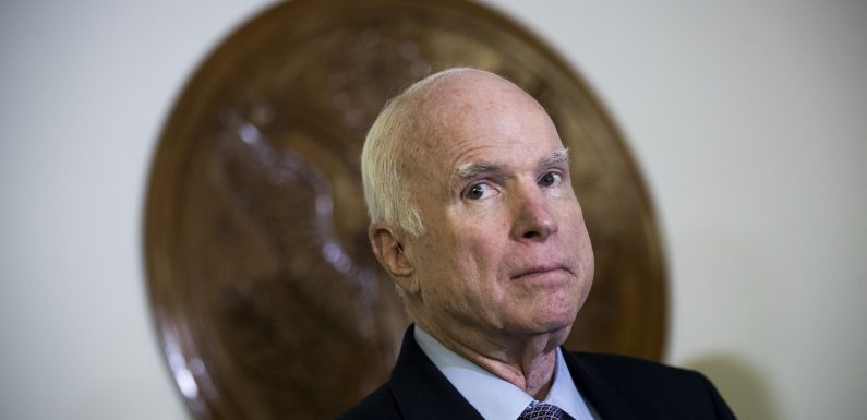 John McCain Public Viewing At Arizona State Capitol Allows Constituents To Pay Tribute
