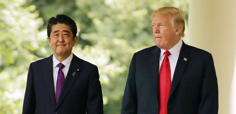 Trump Tells Japanese Prime Minister He 'Remembers Pearl Harbor' In Meeting Over Trade Deal