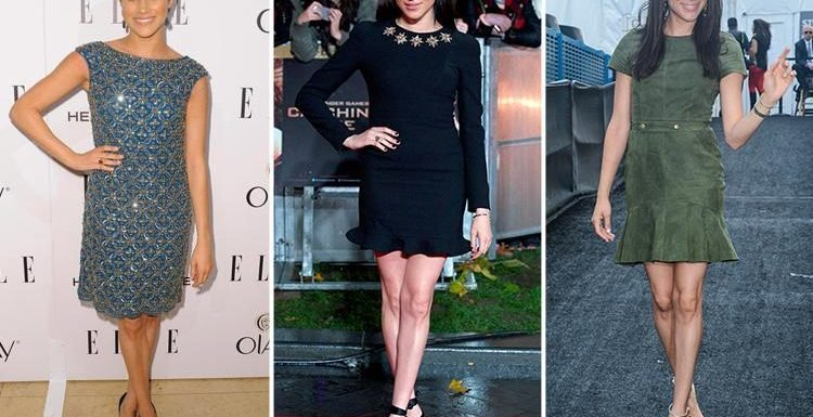 Etiquette expert reveals the tactical pose Meghan Markle does to make her legs look slimmer