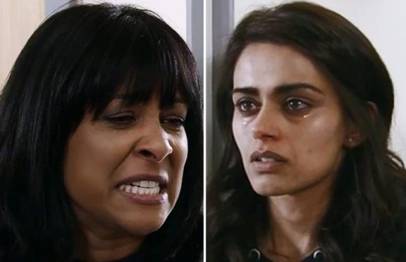 Coronation Street viewers sickened as Rana Nazir's mother forces her to abuse herself to see her dying father