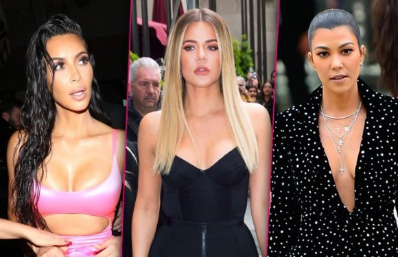 Hating For The Ratings! Kim & Khloe's Feud With Kourtney Faked