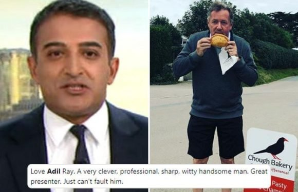 Good Morning Britain fans call for Ackerley Bridge's Adil Ray to replace Piers Morgan and praise him as a 'clever, sharp, handsome professional'