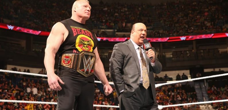 WWE Raw preview: What next for Paul Heyman and Brock Lesnar?