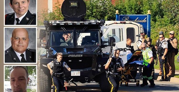 Canada shooting – first pics of hero cops and local musician killed by Fredericton gunman who shot four dead