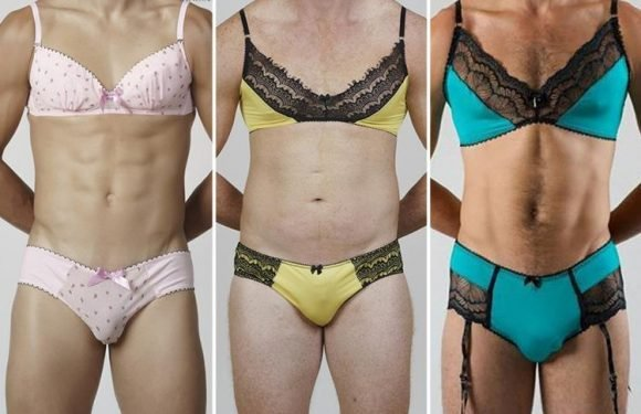 You can now buy lacy bras for MEN… and some women are loving them on their partners