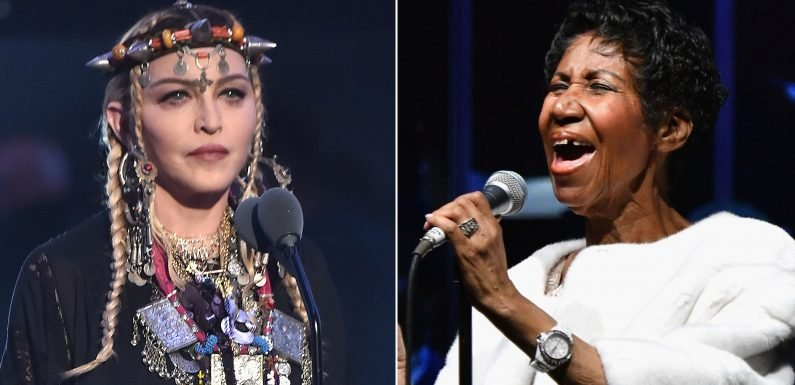 Madonna: 'I Did Not Intend to Do a Tribute to' Aretha Franklin at the VMAs