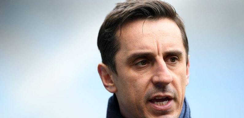 Gary Neville delivers scathing attack on Man United's back four