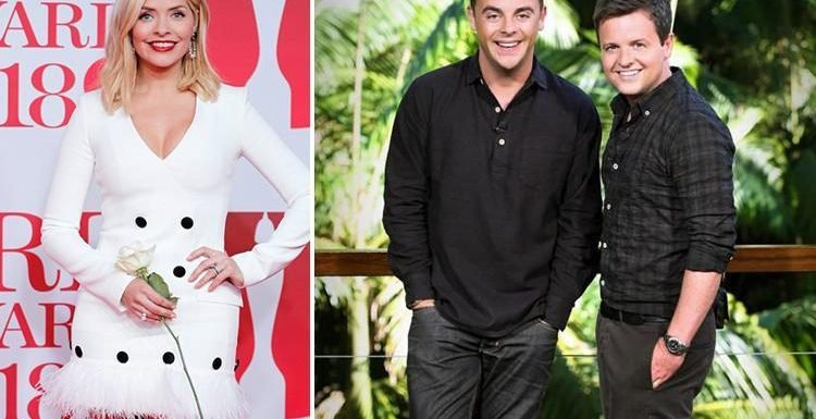 Holly Willoughby 'ITV's favourite to replace Ant McPartlin on I'm A Celebrity'