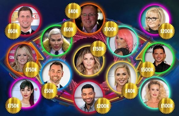 How much are the Celebrity Big Brother 2018 stars paid? Housemates pay packets revealed