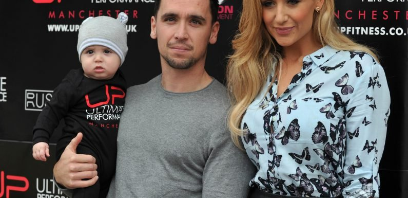 Catherine Tyldesley hit back at troll who 'mum-shamed' her for working while her son was 'at home without his mum'