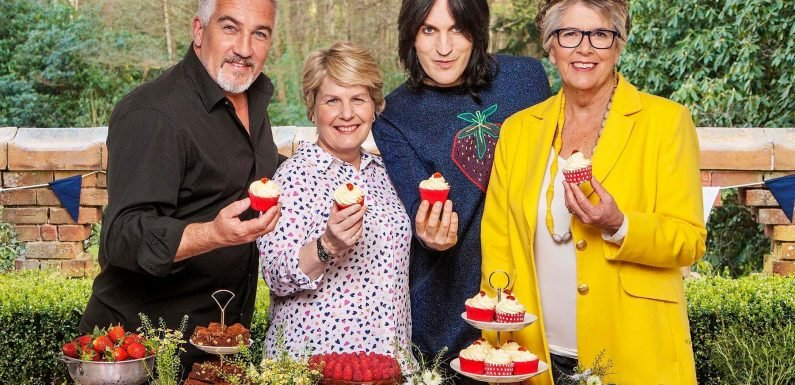 Great British Bake Off host Sandi Toksvig chooses Danish pastry theme to challenge wannabe bakers
