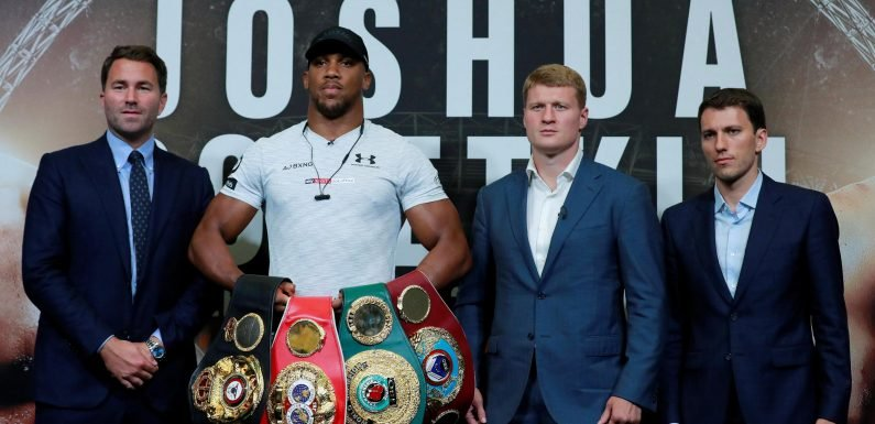 Anthony Joshua vs Deontay Wilder hits new obstacle as WBO announce plan to issue mandatory challenger