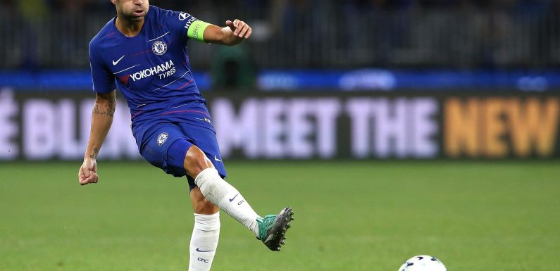 Cesc Fabregas out of Chelsea vs Arsenal clash with 'unusual knee injury' according to Maurizio Sarri